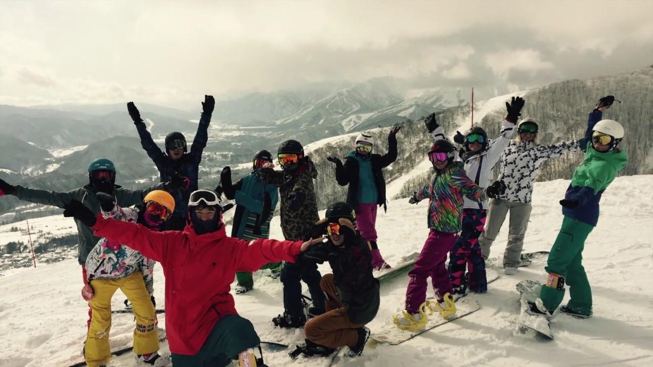 2016-2017日本滑雪團,滑雪會上癮。北海道,長野,苗場精選滑雪度假村【可樂旅遊】 - YouTube
