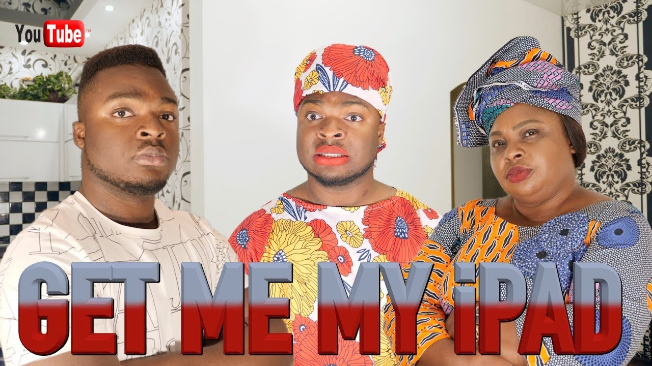 AFRICAN HOME: GET ME MY iPAD