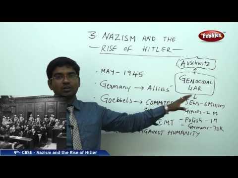 Nazism & the Rise of Hitler | Class 9th Social Studies | NCERT | CBSE Syllabus | Live Videos
