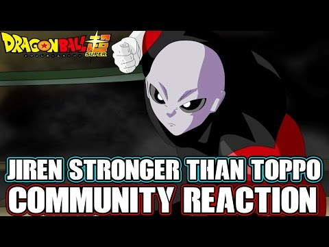 Dragon Ball Super Jiren Stronger Than Toppo Community Reaction! Vegeta Training & More