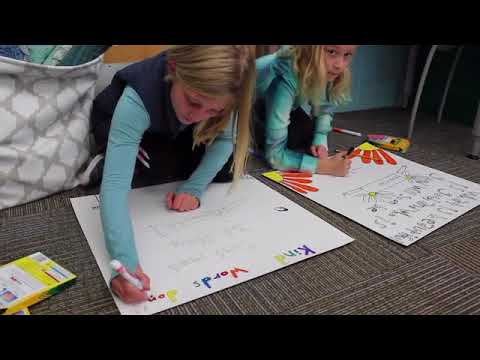 Ms. Christina's fourth- and fifth-grade class at Walden Green Montessori School is the Classroom of