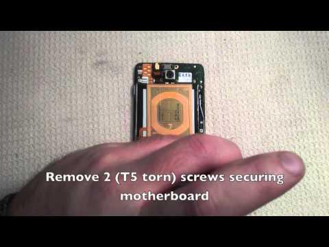 Motorola DROID MAXX Repair XT1080 - Full Teardown (screen, camera, battery, vibrator, speaker)
