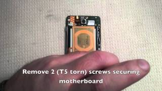 motorola DROID MAXX Repair XT1080 - Full Teardown (screen, camera, battery, vibrator, speaker)