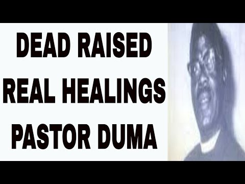 Pastor William Duma   South Africa   Healing, Raising the Dead   Zulu Tribe 1907-1976