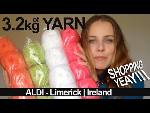 aldi yarn craft knit shopping knittingilove youtube. Black Bedroom Furniture Sets. Home Design Ideas