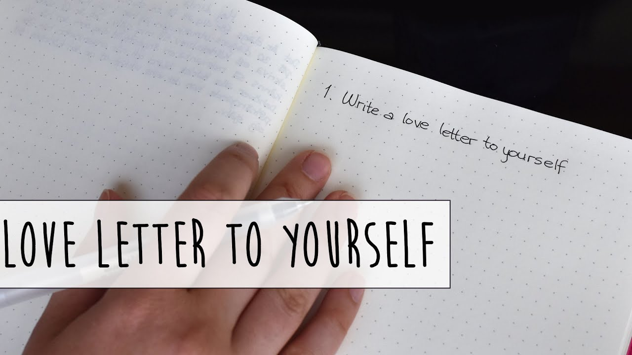 write a letter to your future self assignment