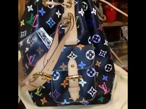 LOUIS VUITTON Monogram Multicolor Petit Noe