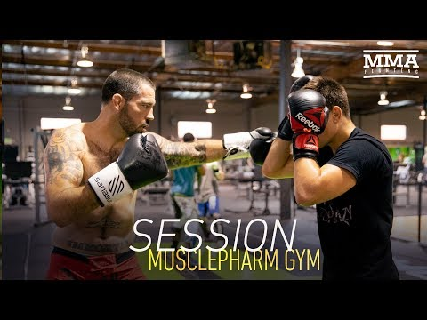 Session: MusclePharm Gym with Matt Brown, Joe Schilling, Mickey Gall and more - MMA Fighting