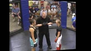 Fight like a Brave/ RHCP 12 yr old Girl from Texas taps out Kansas Highschoolers Pankration
