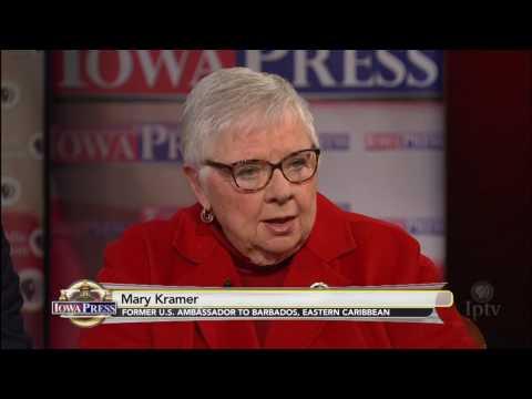Mary Kramer on tackling tough issues as ambassador