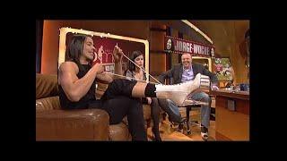 Lena bekommt Catwalk-Unterricht von Jorge - TV total