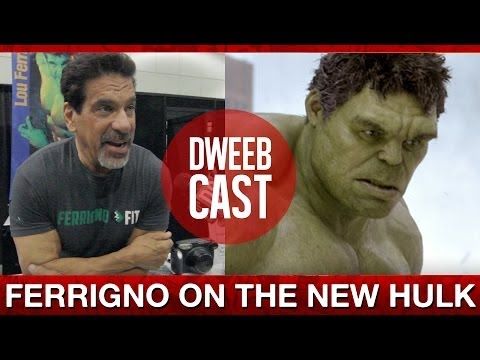 What Lou Ferrigno Thinks of the New Hulk  DweebCast  OraTV