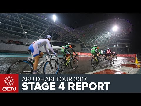 Abu Dhabi Tour Stage 4 Report