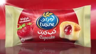 L'usine Cupcake Strawberry