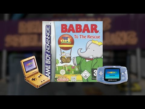 Gameplay : Babar to the Rescue [Gameboy Advance]