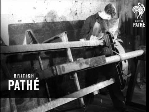 Mg Factory Abingdon 1950