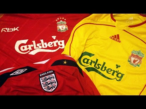 My Football Shirts Collection (Mostly Liverpool)