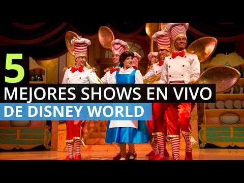 5 Mejores Shows En Vivo de Disney World