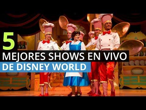 5 Mejores Shows En Vivo de Disney World
