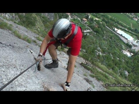 Klettersteig Colodri : Via ferrata colodri arco gardasee abenteuer alpin 2011 folge