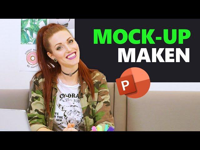 #10 | Mock-up in PowerPoint | Bedrijfspresentatie in 12 stappen | PPT Solutions