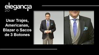 3 Botones Trajes Americanas Blazer O Sacos Bere Casillas Elegancia 2 0 Youtube