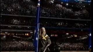 Australian National Anthem at the Sydney Olympics Opening