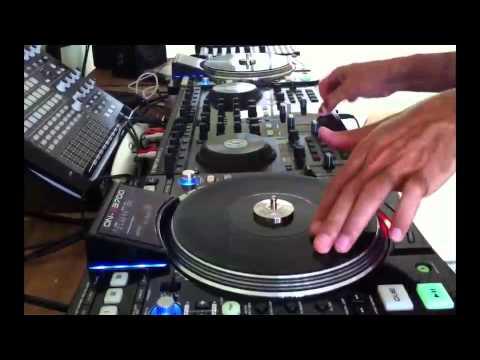 Denon DN-S3700 + Kontrol S4 + Timecodes CD - Scratch Teste - By Fernando Midi