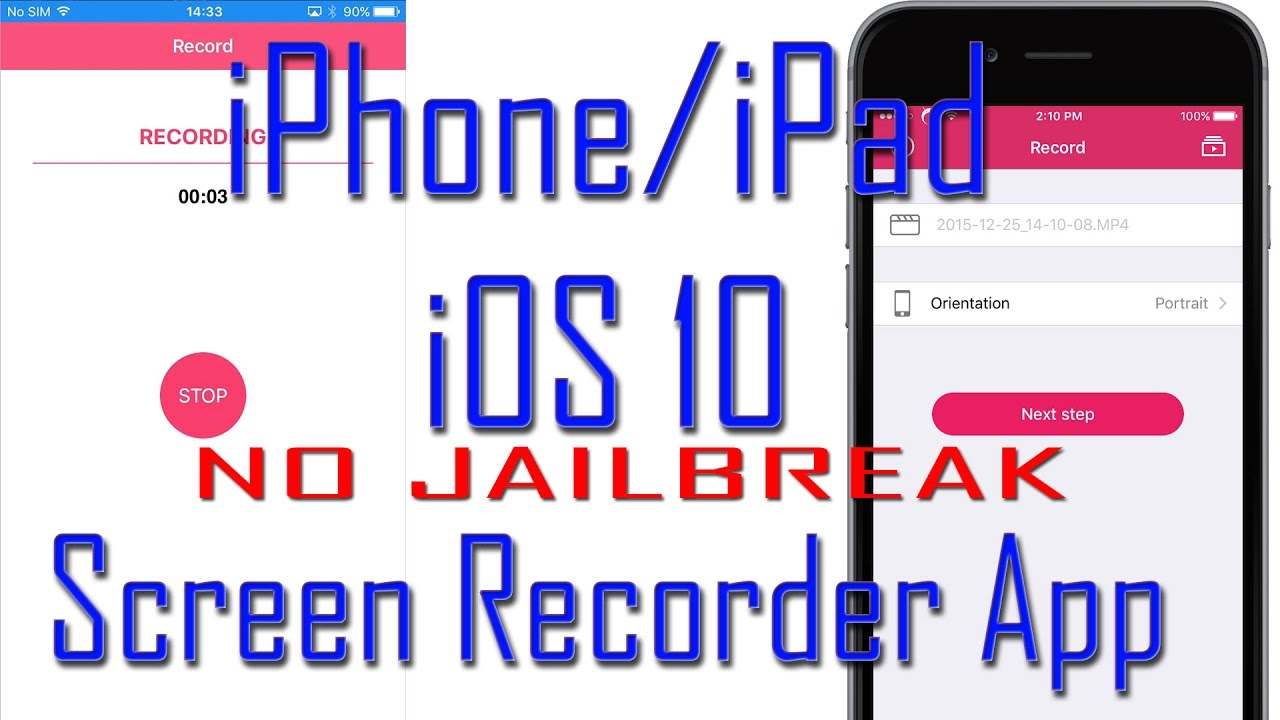 Iphone Screen Recorder App Free