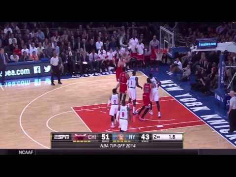 Chicago Bulls vs New York Knicks Full Highlights - 2014 NBA Season