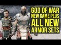 God of War New Game Plus ALL NEW ARMOR SETS (God of War 4 New Game Plus)