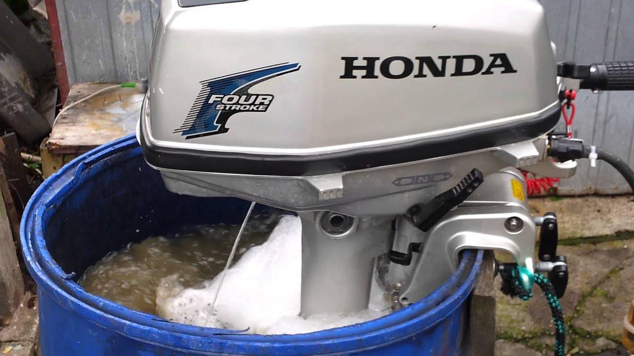 Honda bf 5 hp outboard motor 2007r four stroke 4 suw for Honda 4 stroke outboard motors