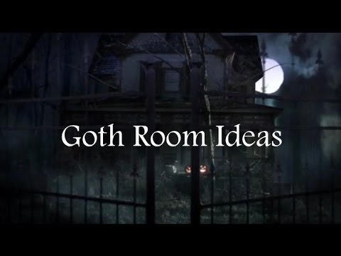 goth room ideas and how to decorate your room in goth style youtube. beautiful ideas. Home Design Ideas