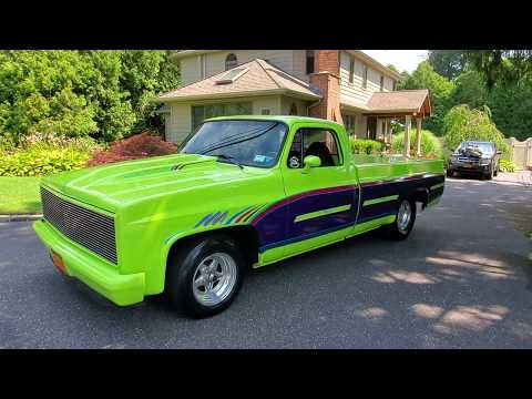 Supercharged 1984 Chevrolet C10 Show Truck For Sale~Polished B and M Whipple Charger