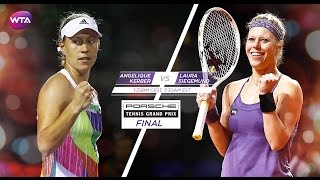 2016 Porsche Tennis Garnd Prix Final Preview   Angelique Kerber vs Laura Siegemund