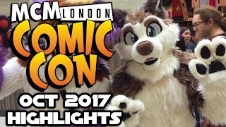 MCM Comic Con London October 2017 Highlights - WWE Universe, Thor Ragnarok, Cosplay, Vlog