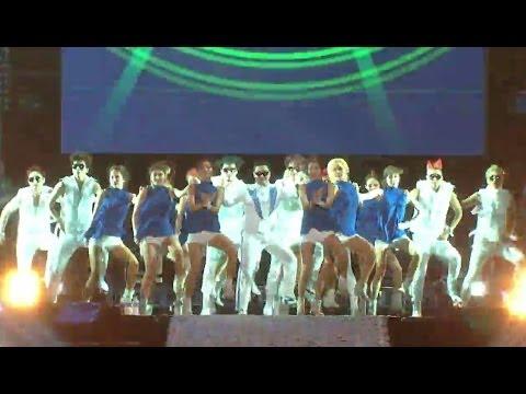 【TVPP】PSY - Gangnam Style, 싸이 - 강남스타일 @ Concert, Show! Music Core live