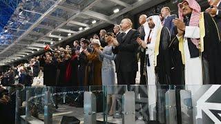 bakı olimpiya stadionunda iv islam həmrəyliyi oyunlarının təntənəli aılış mərasimi olub