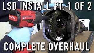 240SX Rear End Rebuild Part 2: Installing A Limited Slip Differential (Complete Overhaul 1 of 2)
