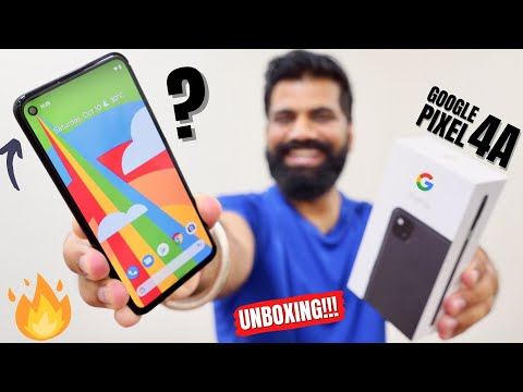 Google Pixel 4a Unboxing & First Look   Clean UI   Crazy Camera   Mid-Range Price