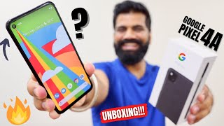 Google Pixel 4a Unboxing & First Look | Clean UI | Crazy Camera | Mid-Range Price🔥🔥🔥