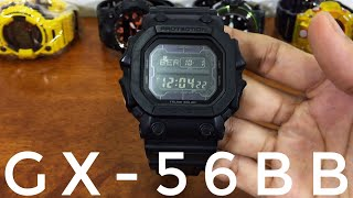 G-Shock BLACK OUT BASIC KING - GX-56BB-1JF NON-MB6 version watch - USED