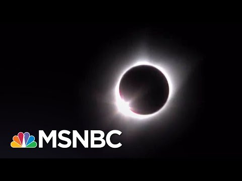 Watch The Solar Eclipse From Casper, WY | MSNBC