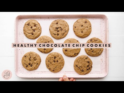 Best Healthy Chocolate Chip Cookies EVER! �� Vegan + Gluten Free