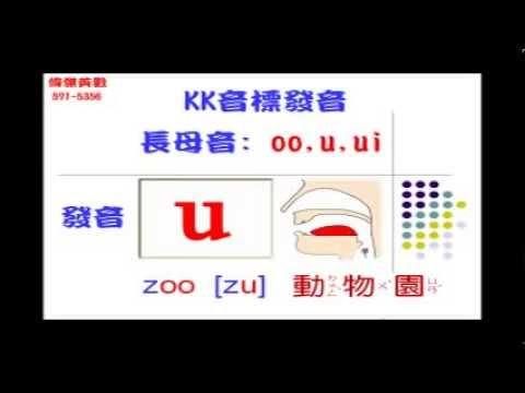 KK Phonics KK音標發音 – 母音發音練習三(Vowel pronunciation)