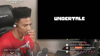 Etika Reacts To Dating Fight Undertale [Highlights]