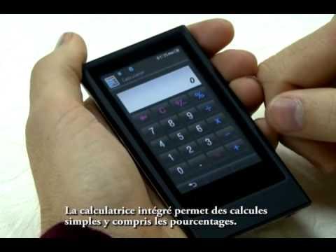Ce nouveau baladeur mp3 de Samsung,le YP-P3 a adopte cette interface Haptic -2-