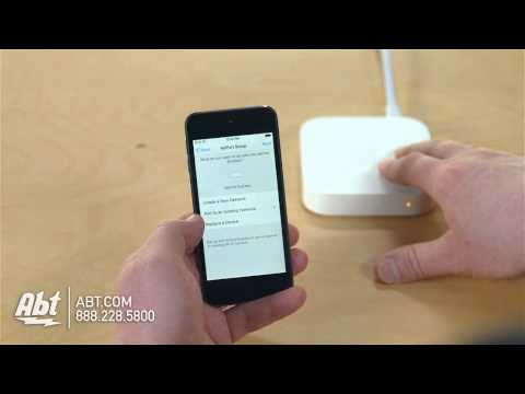 apple airport extreme hookup
