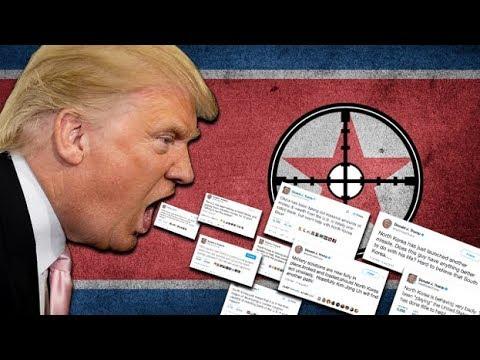 Trump Tweets Towards War with North Korea…and China Moves On Bitcoin