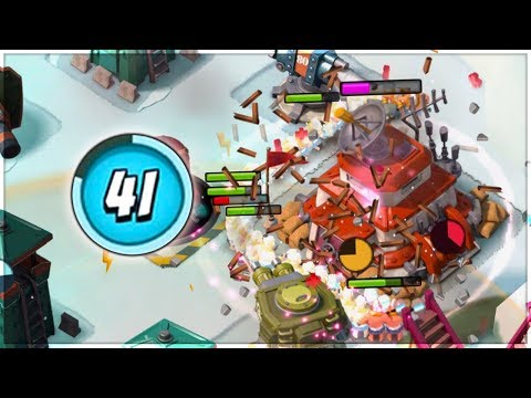 Boom Beach LOW Level Mayhem! Attacking Players HIGHER than me!